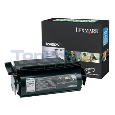 LEXMARK OPTRA SE3455 PRINT CARTRIDGE BLACK RP HY